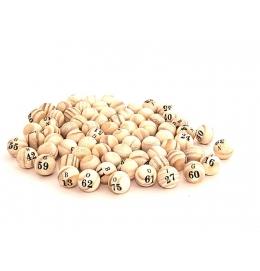 Bolinha de Bingo Médio/Grande (100 Bolinhas)