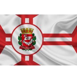 Bandeira Município São Paulo Oficial 1,12 x 1,60 EXTERNO B1