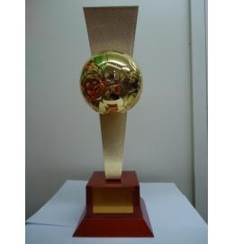 Troféu Bola Futebol 40CM Piazza (Ref.:5830)