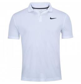 Camisa Polo Team Nike (Branca)