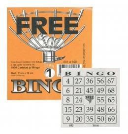 Cartela de Bingo Free