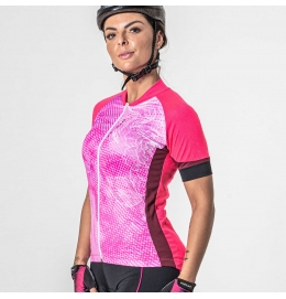 Camisa Ciclista Feminina Poker (Ref.:04238)